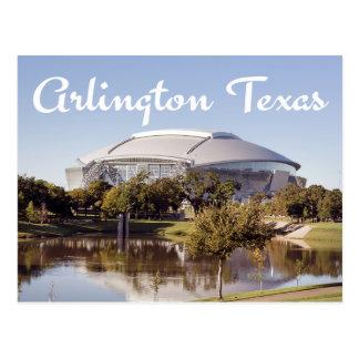 Dallas Cowboys-Stadions-Postkarte Arlingtons, Postkarte