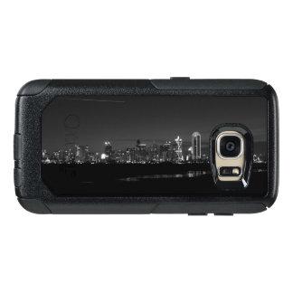 Dallas-Skyline-Dämmerung Pano Grayscale OtterBox Samsung Galaxy S7 Hülle