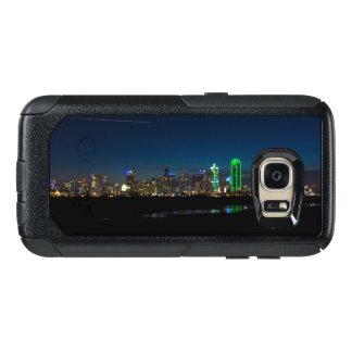 Dallas-Skyline-Dämmerung Pano OtterBox Samsung Galaxy S7 Hülle