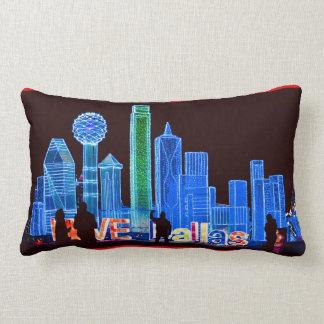 Dallas-Skyline-Gewohnheits-Kissen Lendenkissen