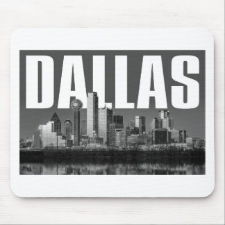 Dallas-Stadtbild Mousepad