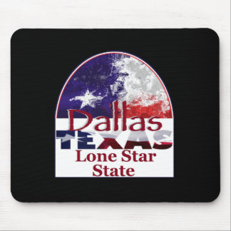 DALLAS Texas Mousepad