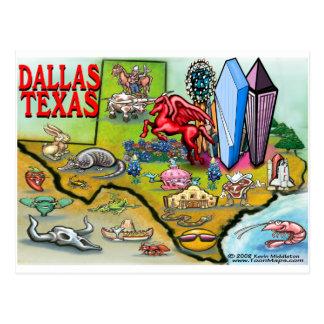 Dallas TX Postkarte