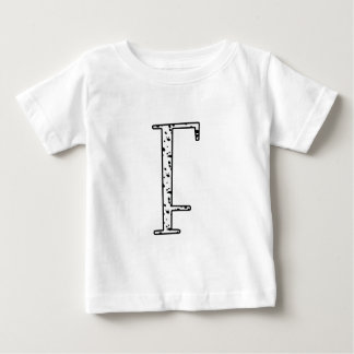 Dalmatiner-Punkte F Baby T-shirt
