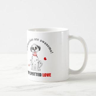 Dalmatiner sind fantastisch kaffeetasse