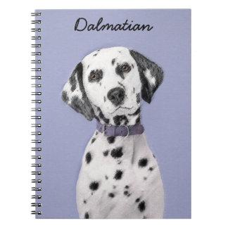 Dalmatiner Spiral Notizblock