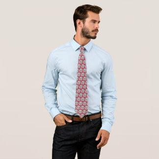 Dalmatinische Kunst Nouveau Glassatin-Muster Krawatte