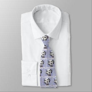 Dalmatinische Malerei - niedliche ursprüngliche Krawatte