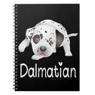 Dalmatinische Spiral Notizblock