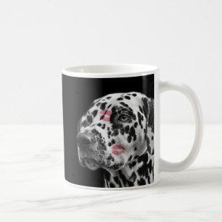 DALMATIAN WEIM LOVE WHITE COFFEE MUG