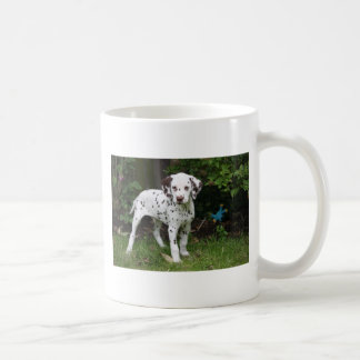 Dalmatinische WelpenhundeTasse, anwesende Idee Kaffeetasse