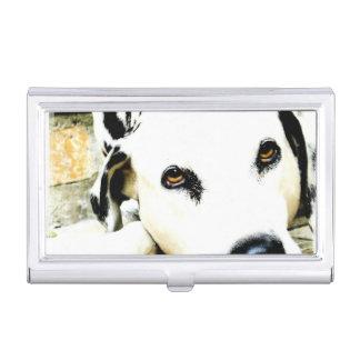 Dalmatinischer Hund Visitenkarten Dose