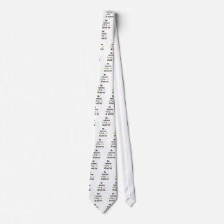 Dalmatinischer Weg-Entwurf Krawatte