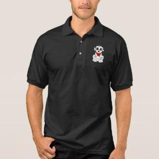 Dalmatinischer Welpe mit der Herz-Förmigen Nase Polo Shirt