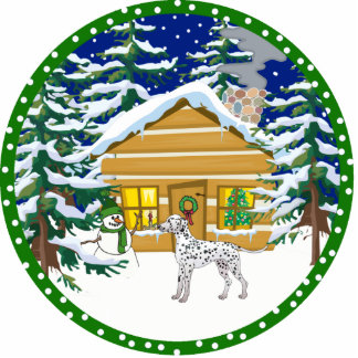 dalmatinischer Winter Fotofiguren