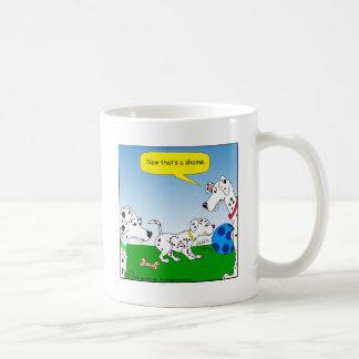 dalmation 613 Katzen-Cartoon Kaffeetasse