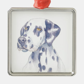 Dalmation Silbernes Ornament