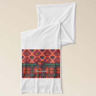 Dalzell Clan karierter schottischer Tartan Schal