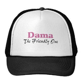 Dama das freundliche trucker mütze