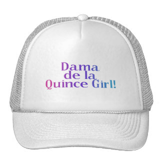 Dama de la Quince Girl Tuckercaps