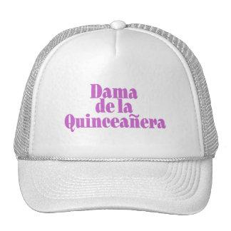 Dama de Las Quinceanera Retrokultmützen