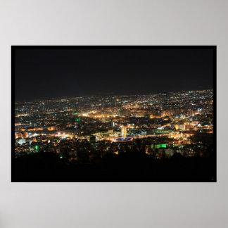 Damaskus nachts - Syrien