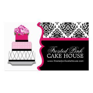 Damast-Kuchen-Bäckerei-Visitenkarten