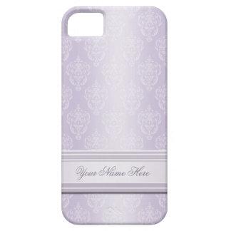 Damast-Lavendel iPhone 5 Hülle
