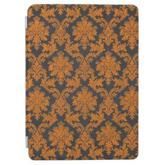 Damast-Tafel-Muster Halloweens orange iPad Air Hülle