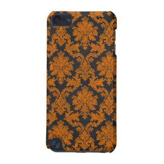 Damast-Tafel-Muster Halloweens orange iPod Touch 5G Hülle