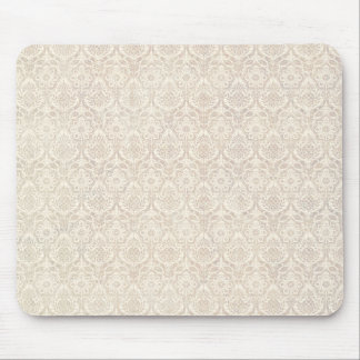 Damast-Vanille-Muster Mousepad