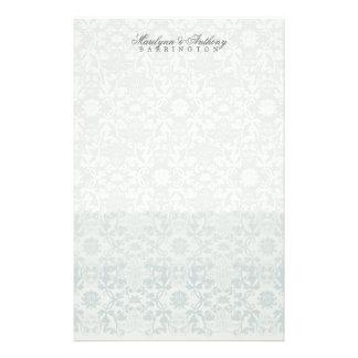 Damast-Wirbels-Spitze-Traum danken Ihnen Briefpapier