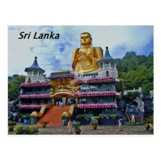 Dambulla-Höhletempel-sri-lanka Angie Postkarte