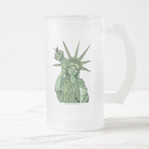 Dame Apathy - Bier-Tasse $23