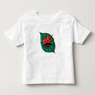 Dame Bird auf einem Blatt Kleinkinder T-shirt