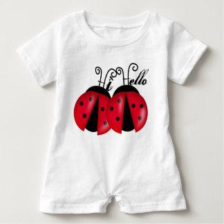 Dame Bug Hi Hello Baby Strampler