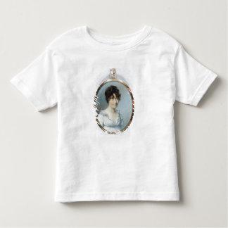 Dame der stumpfen Familie (w/c und Gouache auf Kleinkind T-shirt