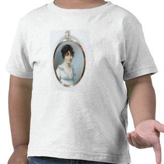 Dame der stumpfen Familie (w/c und Gouache auf T Shirts