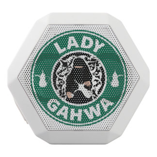 Dame Gahwa Speakers Weiße Bluetooth Lautsprecher