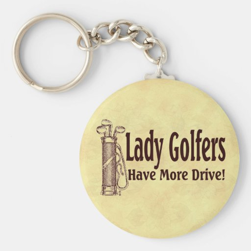 Dame Golfers Schlüsselband