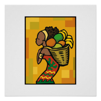 Dame Kwanzaa Plakate