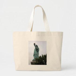 Dame Liberty in New- Yorkhafen Jumbo Stoffbeutel