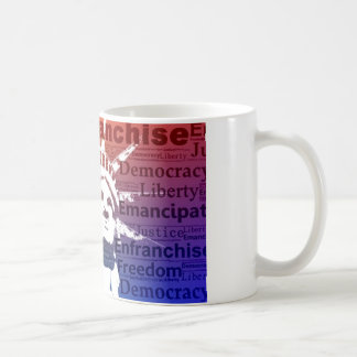 Dame Liberty Kaffeetasse