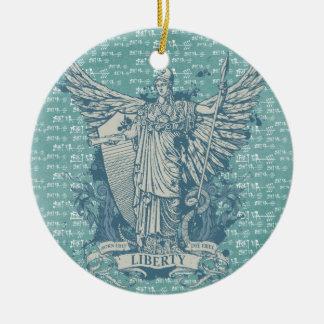 Dame Liberty Libertas Ornament