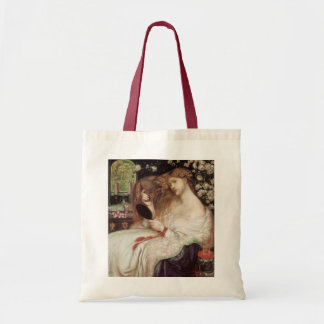 Dame Lilith durch Rossetti, Vintages Tragetasche