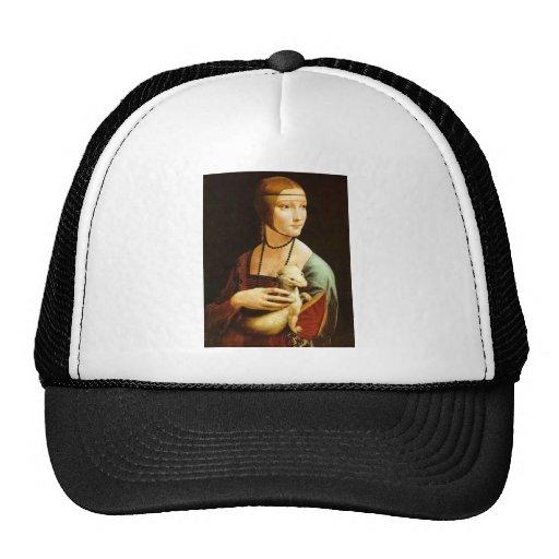 Dame mit einem Ermine durch Leonardo da Vinci C. 1 Caps