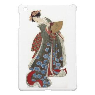 Dame mit einem Fächer iPad Mini Hülle