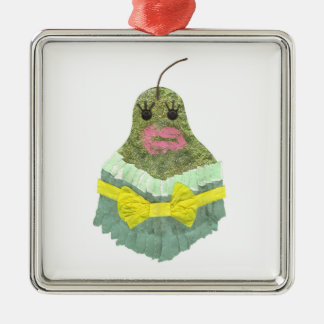 Dame Pear Premium Ornament