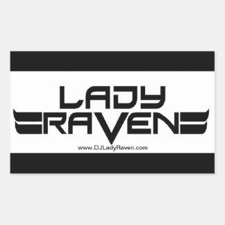 Dame Raven Sticker