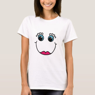 Dame Smiley T-Shirt